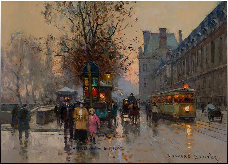 Edouard Cortès - Ζωγράφος της πόλης του φωτός