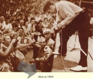 Elvis Presley in 50's