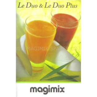 magimix le duo juicer book