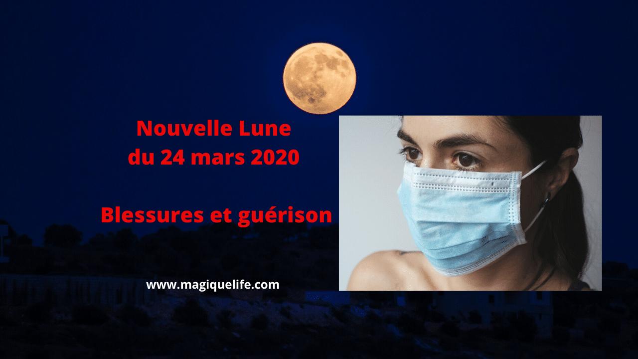 Nouvelle Lune du 24 mars 2020