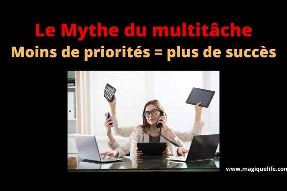 mythe du multitâche