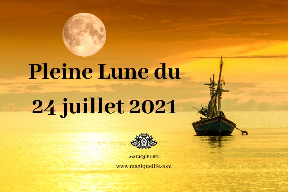 Pleine lune du 24 juillet 2021