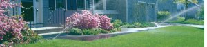 Front Yard Lawn Sprinkler System