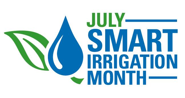 Smart Irrigation Month Logo