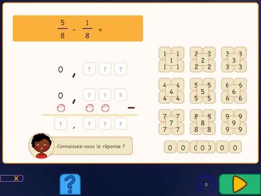 Apprenez à ajouter des fractions avec des décimales.
