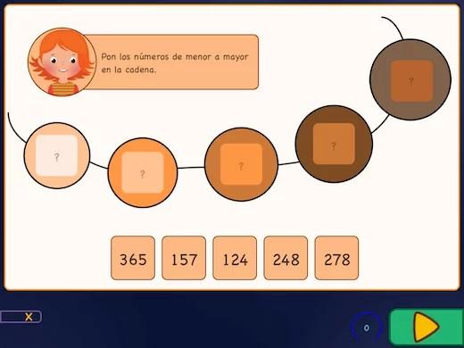 En estos ejercicios, verás varios ladrillos con signos de interrogación en la pantalla.