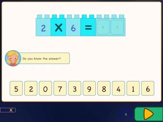 Learn randomly the multiplication times tables.