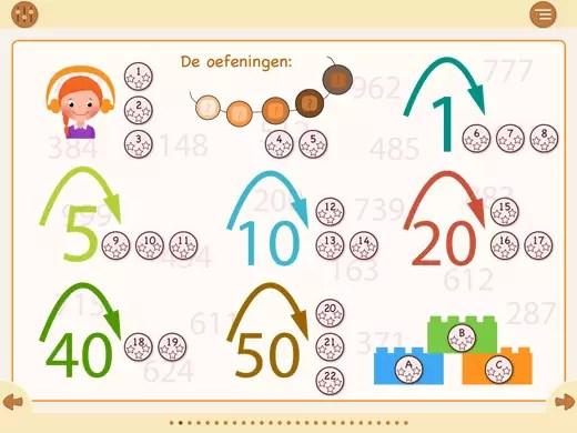 22 oefeningen om getallenkennis tot 1000 uit te breiden.