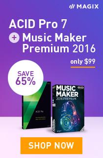 MAGIX Software ACID Pro + Music Maker Premium