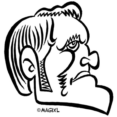 Caricatures of multi-sports champions