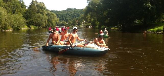 Das Moldau Bootserlebnis im August (21.-23.8.)