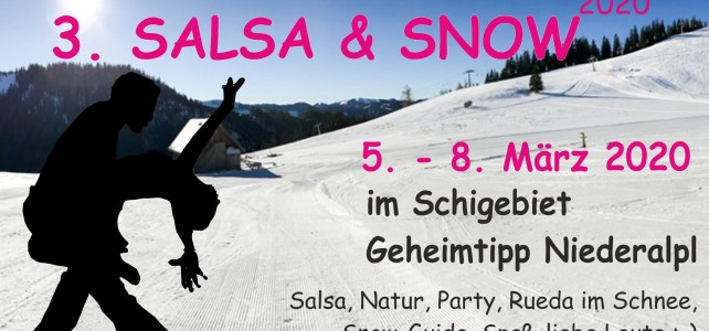 Salsa and Snow Niederalpl 2020