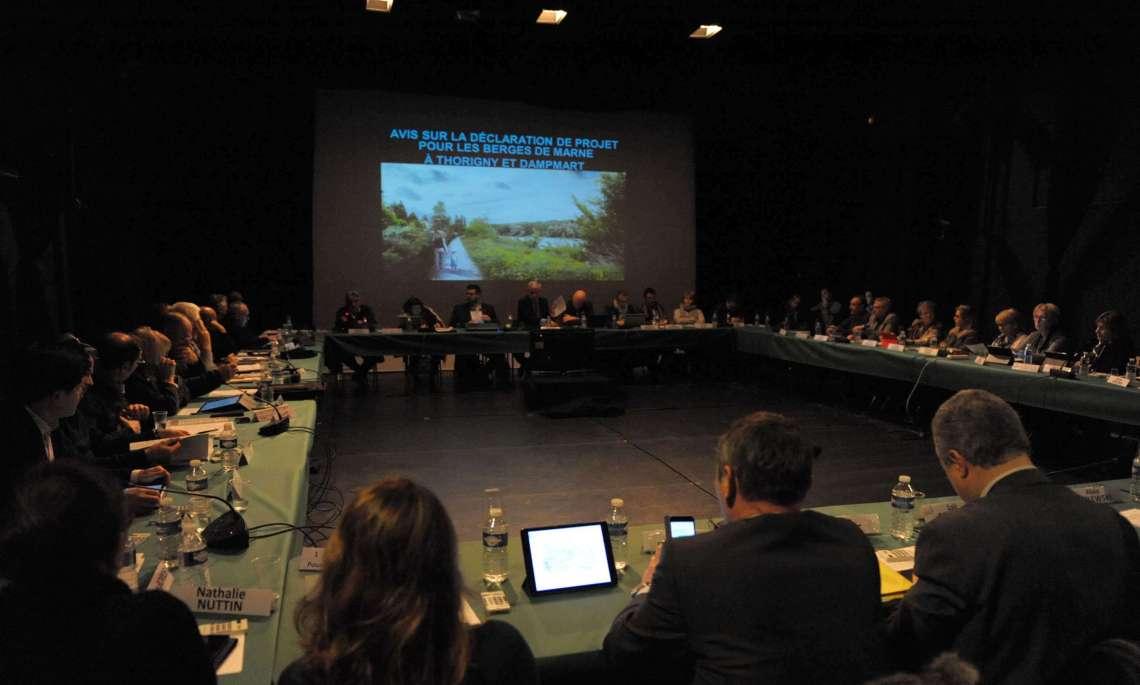Les élus ont voté, lundi soir, pour le projet d'aménagement des berges de Marne à Thorigny et Dampmart.
