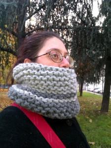 Un collo a maglia veramente Big  Maglia e Uncinetto