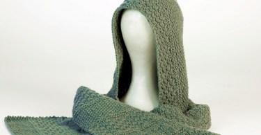 La sciarpa-cappuccio di Gomitoli's