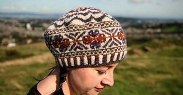 Modello dal libro Colours of Shetland