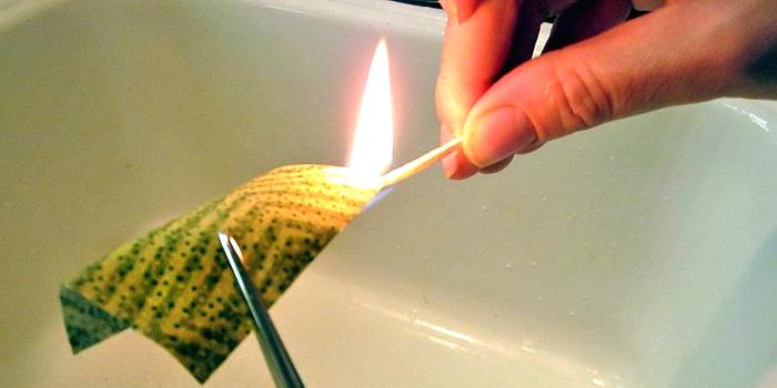 Come testare le fibre col fuoco