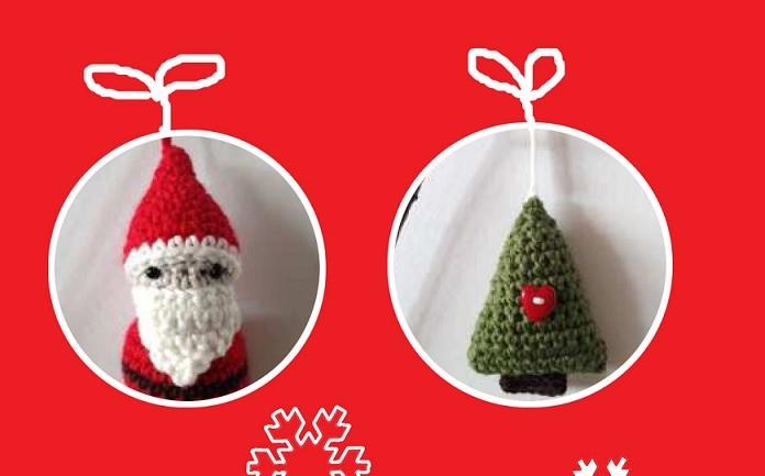 Babbo Natale, elfo e renna amigurumi: schema base - YouTube | 433x696