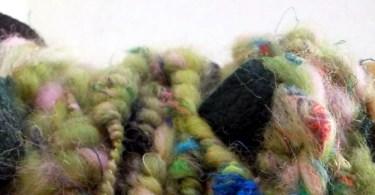 Un filato art yarn realizzato dalle Lanivendole
