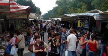 Il mercato delle Cascine a Firenze