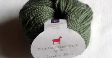 Il gomitolo di Blue Faced Leicester