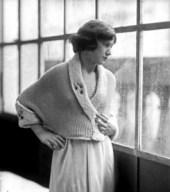 Un modello a maglia di Anita Pittoni
