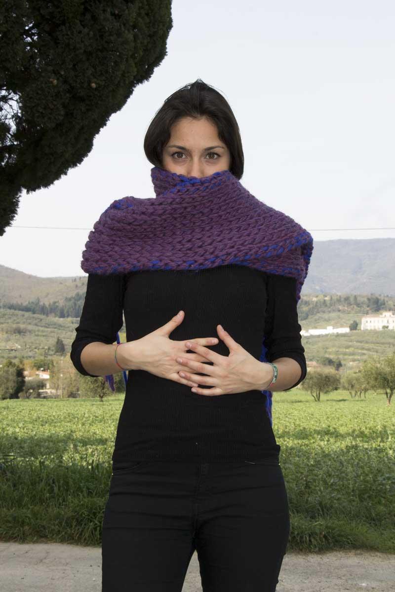 Super sciarpa Binario con Elisa di Borgo de' Pazzi