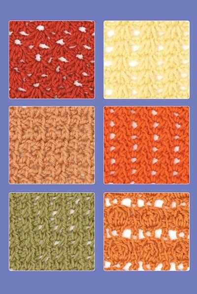 Tunisian Crochet Stitch Guide di Kim Guzman - uncinetto tunisino