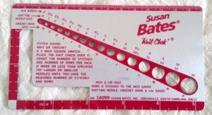 Squadretta per la tensione e misura ferri di Susan Bates