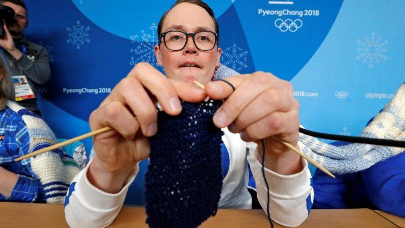 Antti Koskinen sferruzza alle olimpiadi 2018