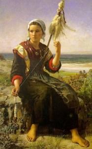 La Filatrice di Breton Befana