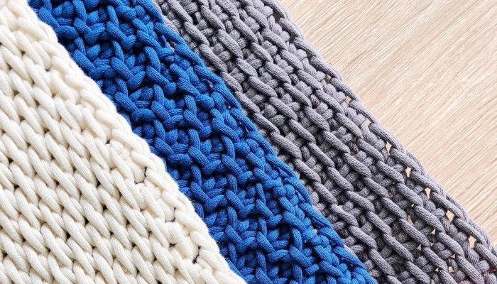 Basic Tunisian Crochet Stitches Yarn&Hooks Guida per principianti dell'uncinetto tunisino