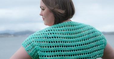 Callaina Lace Bolero di Joy of Motion Crochet - Janne Kleivset primavera/estate