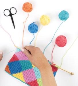 Tunisian Crochet Workshop Michelle Robinson apprendimento e diffusione uncinetto tunisino