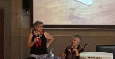 Donna Galletta e Meg Swansen