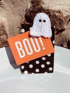 Halloween Garland Lori Thompson Halloween a maglia e uncinetto