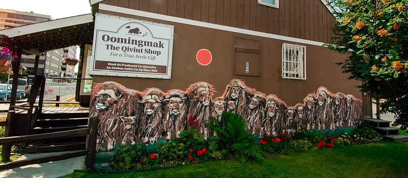 Negozio filati quiviut ad Anchorage