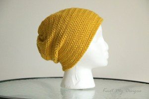 Cappello slouchy uncinetto