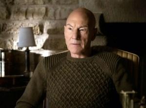 Comandante Picard con maglione a trecce