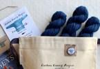 Materiali e modello per maglione Guernzey