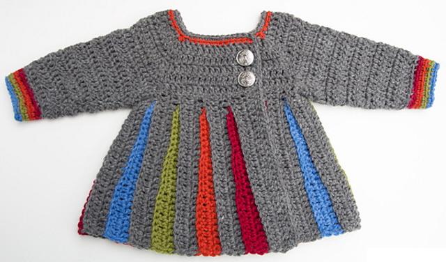 Famoso 5 maglioncini bebè per la primavera - Maglia e Uncinetto AT13