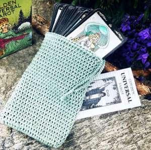 Tarot Cards Deck Bag CrochetLux Tarocchi e Oracoli
