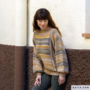 maglione da donna a maniche lunghe