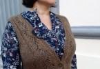 Modello a maglia di Maria Modeo