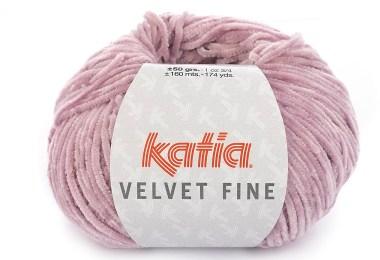 Gomitolo di ciniglia Velvet Fine di Katia