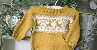 Pattern di maglione di Natale di OGE Knitwear Designs
