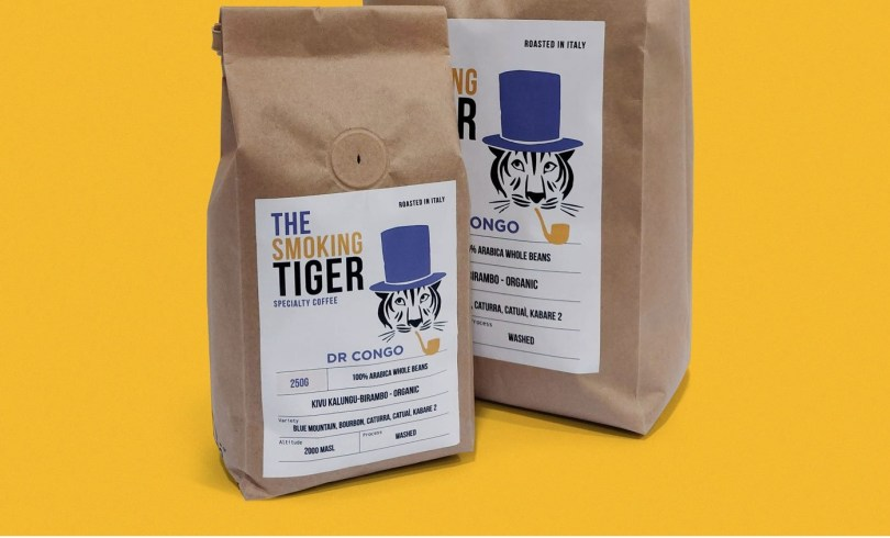 Confezioni del caffè Smoking Tiger