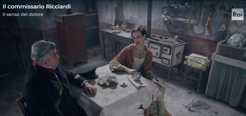 Immagine dalla serie RAI Il commissario Ricciardi