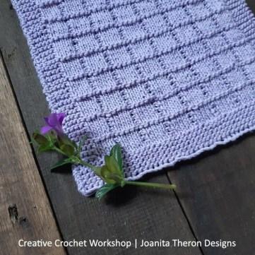 Moduli quadrati: modulo a maglia di Joanita Theron