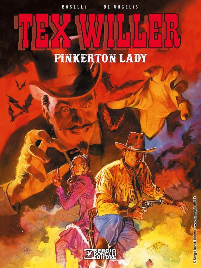 Tex Willer cover